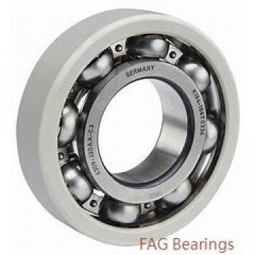95 mm x 170 mm x 43 mm  FAG 22219-E1-K  Spherical Roller Bearings